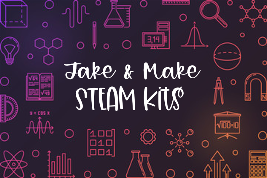 PNG of Take & Make STEAM Kits